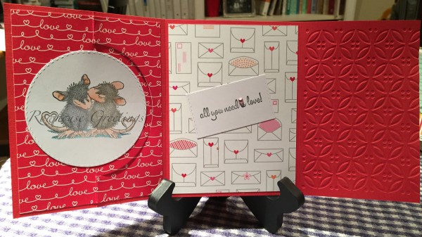Rowhouse Greetings | Valentine's Day card | House Mouse Designs | Tails of True Love