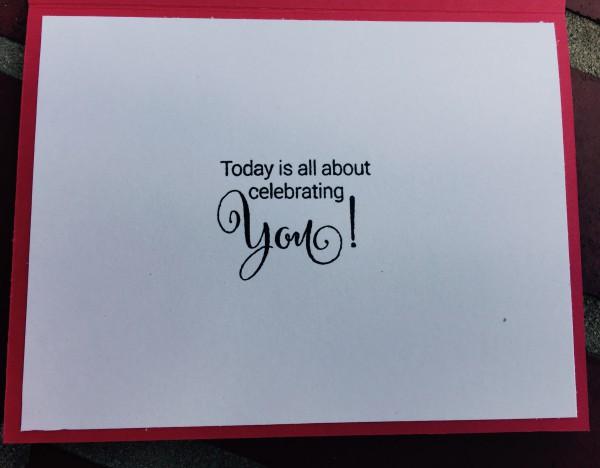 Rowhouse Greetings   Celebrations, Birthdays   Poppy Posy by Tiddly Inks, Sprinkles and Smiles by Penny Black
