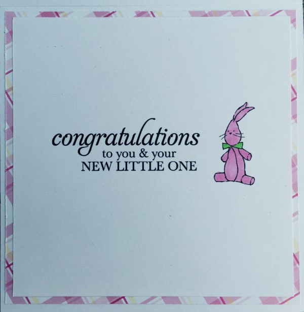 Rowhouse Greetings   New Baby   Spit Happens by Mo's Digital Pencil; Sweetest Baby by Stampin' Up!