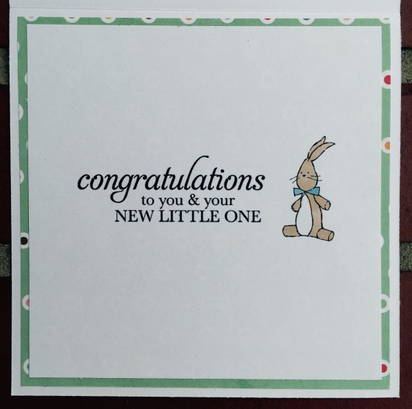 Rowhouse Greetings   New Baby   Happy Baby by Mo's Digital Pencil; Sweetest Baby by Stampin' Up!