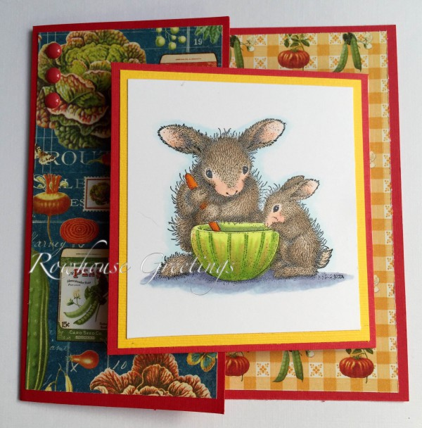 Rowhouse Greetings | Friendship | House Mouse Designs Mix It