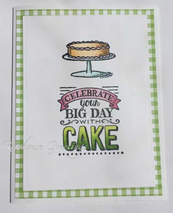 Rowhouse Greetings | Birthday | Big Day by Stampin' Up!