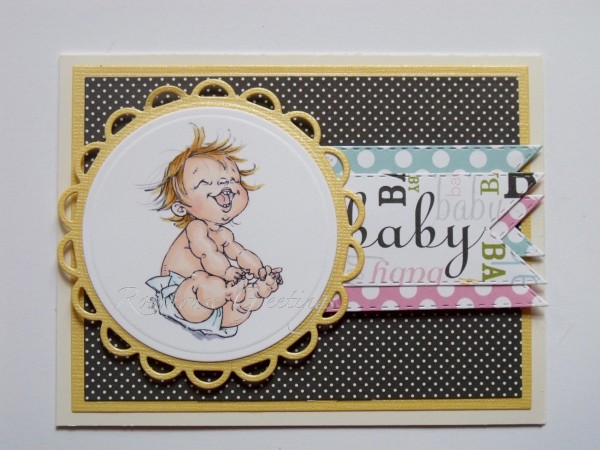 Rowhouse Greetings | New Baby | Happy by Mo's Digital Pencil