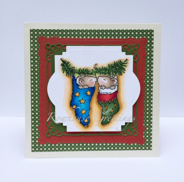Rowhouse Greetings | Christmas | Christmas Love by Penny Black
