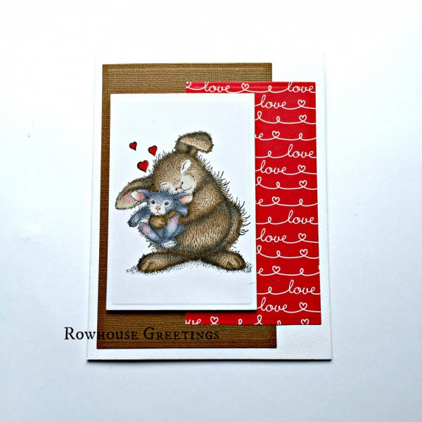 Rowhouse Greetings | New Baby | Bunny Luv by House Mouse Designs