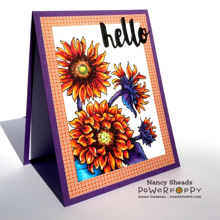 Rowhouse Greetings | Sunshine of My Life by Power Poppy