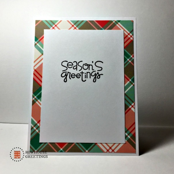 Rowhouse Greetings | Christmas | Christmas Sampler by Paper Smooches