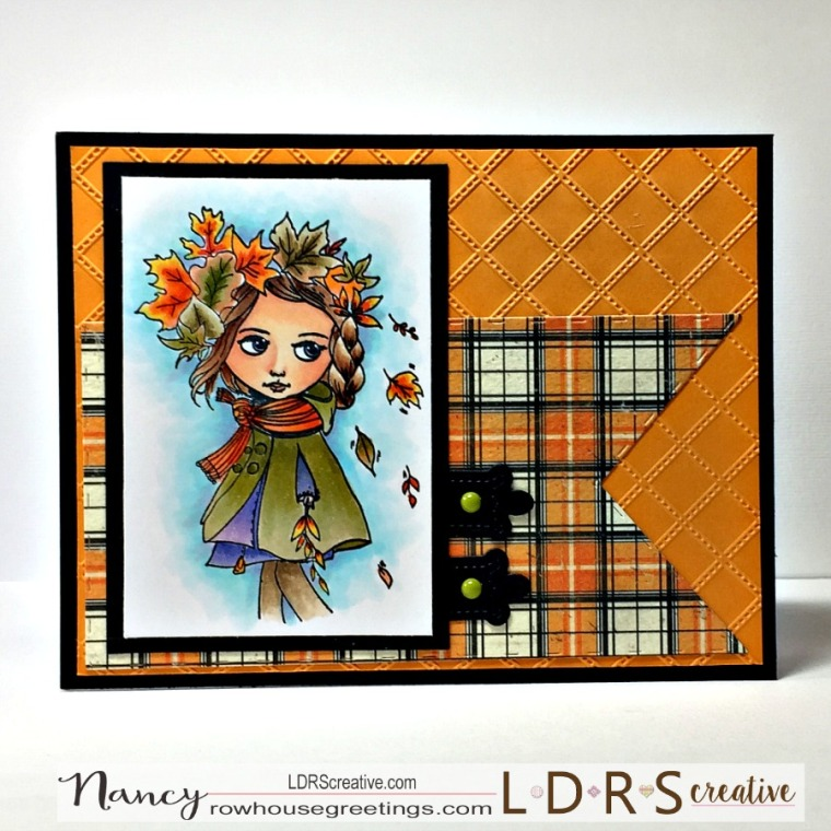 Rowhouse Greetings | Autumn | Dollhouse Chilly Daze by LDRS Creative