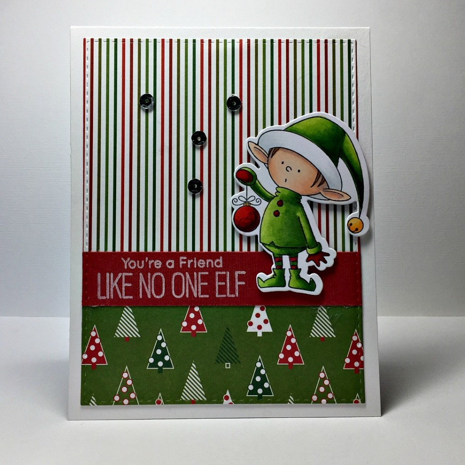 Rowhouse Greetings | Christmas | BB Santa's Elves by My Favorite Things