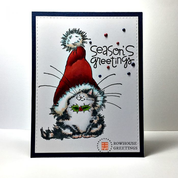 Rowhouse Greetings | Christmas | Jolly Xmas Kitty by Penny Black