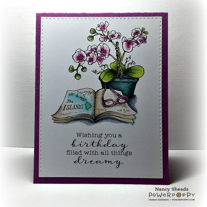 Rowhouse Greetings | Birthday | Orchid Dreams by Power Poppy