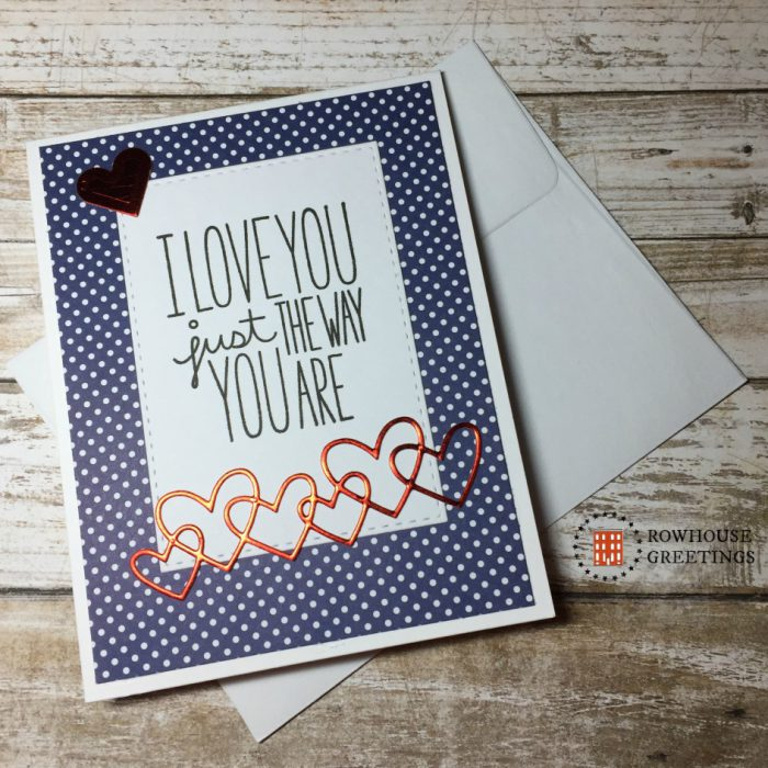 Rowhouse Greetings | Valentines Day | I Love You More by MFT Stamps