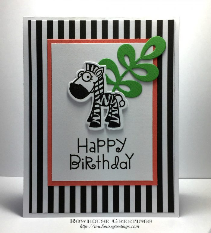 Rowhouse Greetings | Birthday | Zoo Crew
