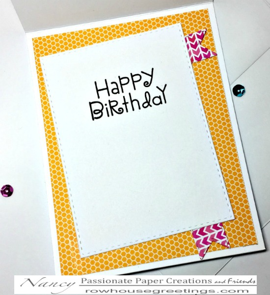 Rowhouse Greetings | Tori the Dragon Birthday Girl by Conie Font