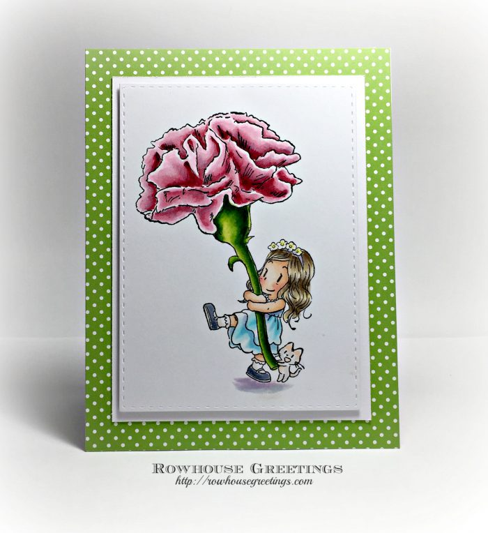 Rowhouse Greetings | Mother's Day | Say Love with Flowers by Dreamerland Crafts