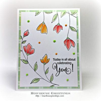 Rowhouse Greetings | Birthday | Softly by Penny Black