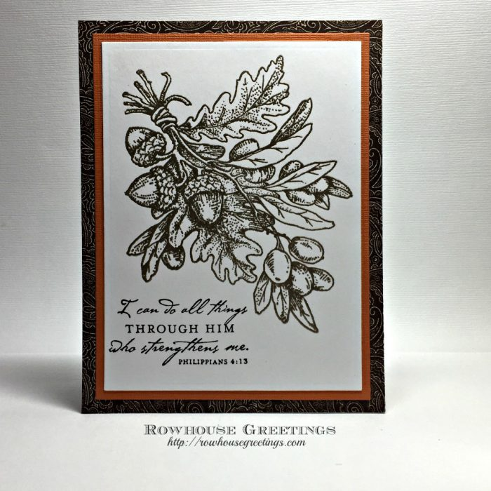 Rowhouse Greetings | Olive and Oak by Power Poppy