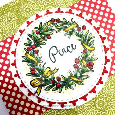 Rowhouse Greetings | Wreaths Plain and Fancy by Power Poppy