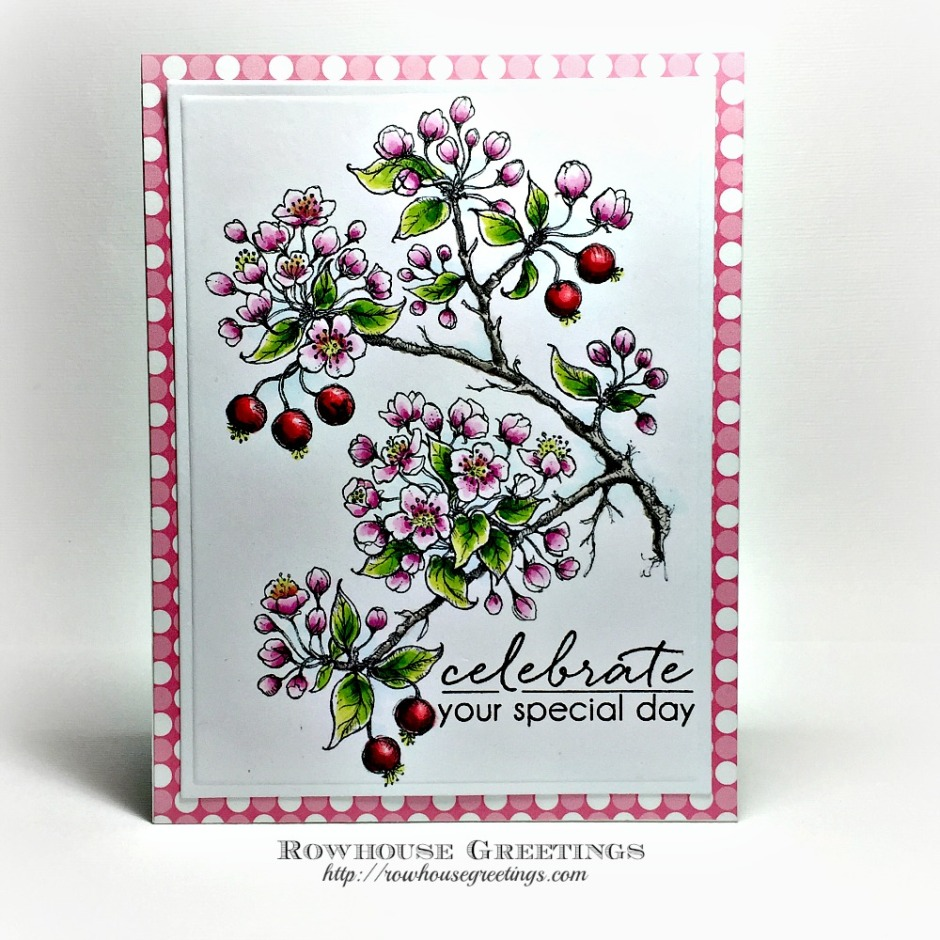 Rowhouse Greetings | Flowering Branches by Power Poppy