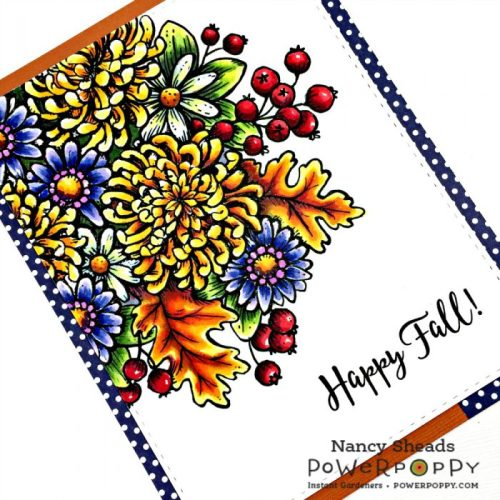 Rowhouse Greetings | Autumn's Opulence by Power Poppy