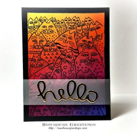 Rowhouse Greetings | Whiskers by Stampendous!