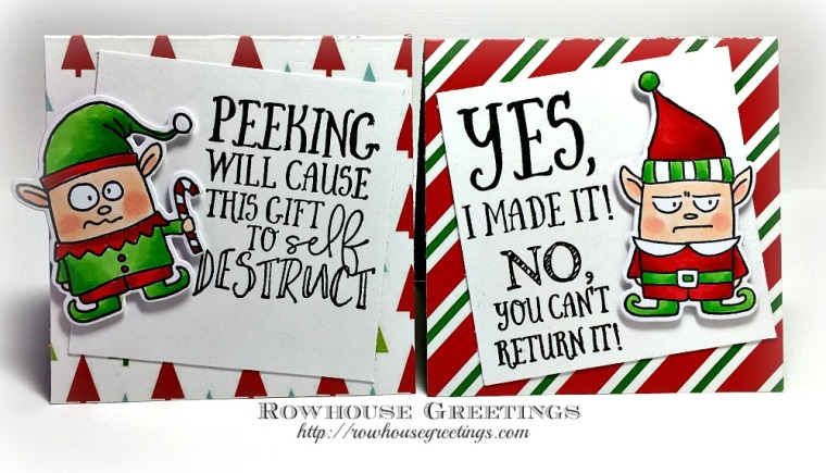 Rowhouse Greetings | Elf Grumplings by Taylored Expressions