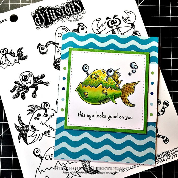 Rowhouse Greetings | Under the Sea by Dylusions
