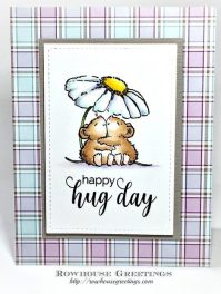 Rowhouse Greetings | Hugs by Penny Black