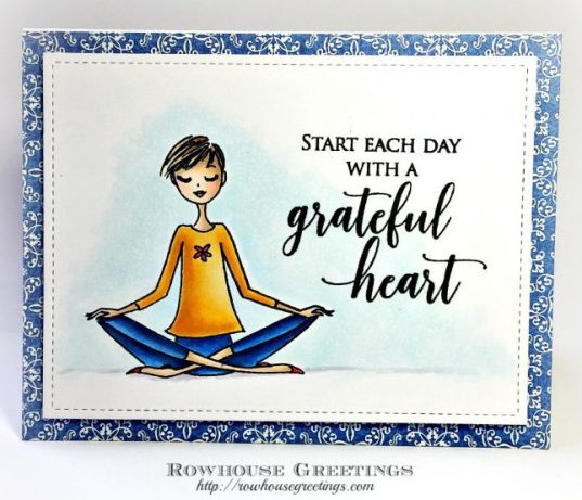 Rowhouse Greetings | Breathe by Penny Black