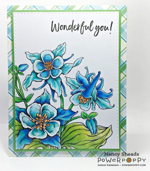 Rowhouse Greetings | Cup of Columbine by Power Poppy