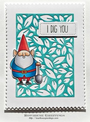 Rowhouse Greetings | You Gnome Me by My Favorite Things (MFT Stamps)