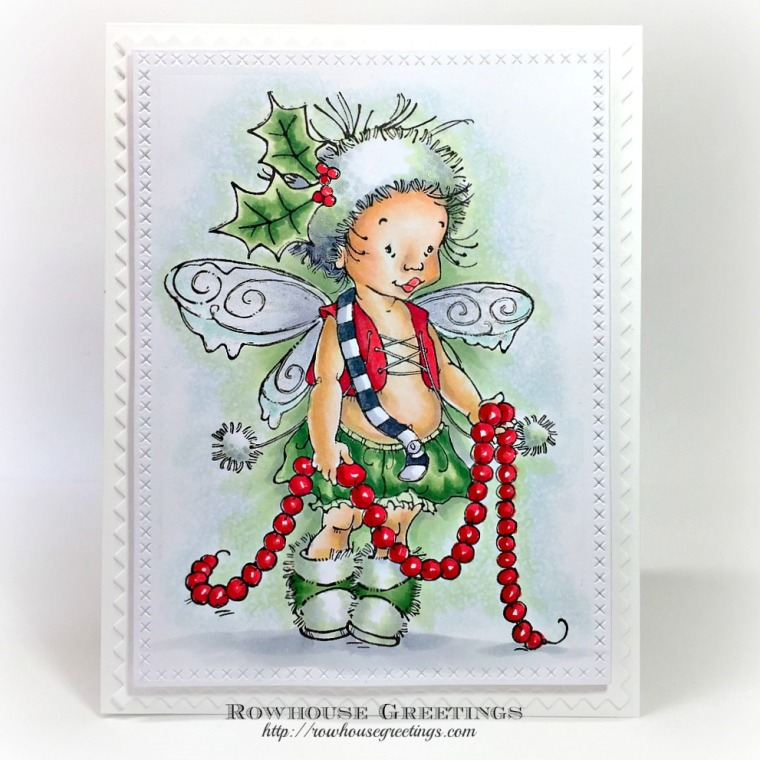 Rowhouse Greetings | Garland Pixie by Penny Black