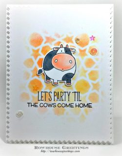 Rowhouse Greetings | The Whole Herd by My Favorite Things (MFT Stamps)