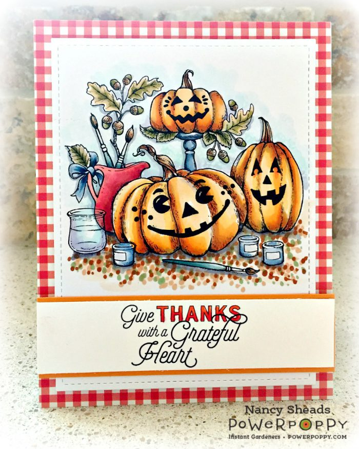 Rowhouse Greetings | Painting Pumpkins by Power Poppy