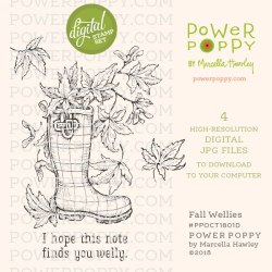 Power Poppy | Fall Wellies