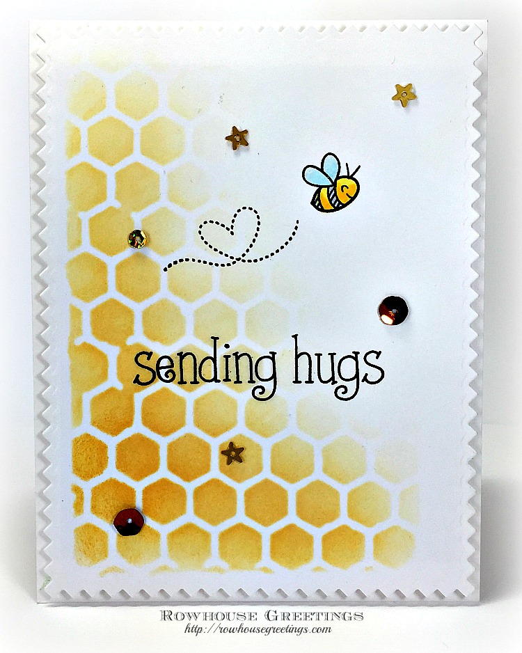 Rowhouse Greetings | Bee Mine by Lawn Fawn