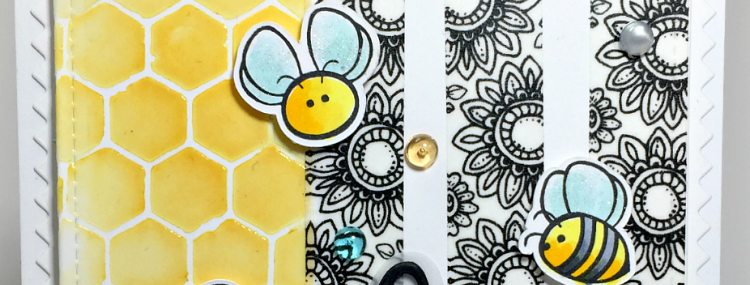 Rowhouse Greetings | Busy Bees by Honey Bee Stamps